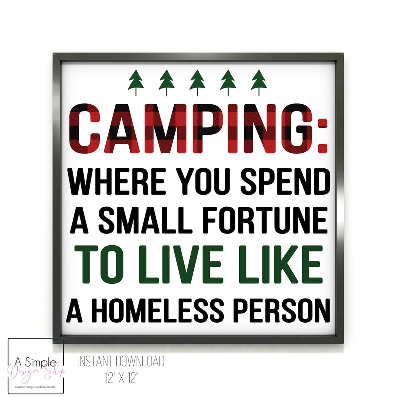 Camping: Spending A Small Fortune To Live Like A Homeless image 0