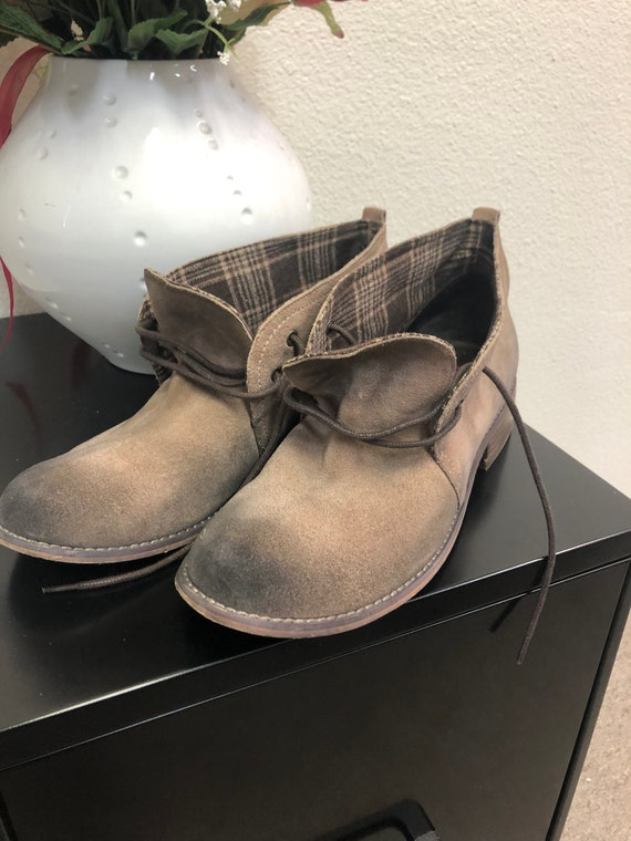 Used Nordstrom Boots Faux Suede Boots
