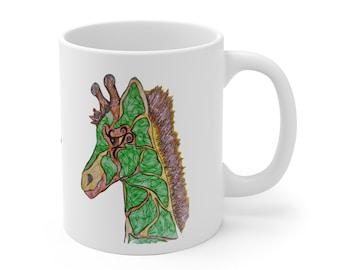 Giraffe Safari Mug