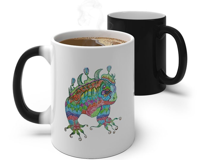 Iguana Color Changing Mug