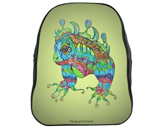Iguana School Backpack
