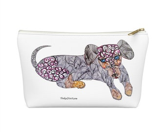 Dachshund Accessory Pouch w T-bottom