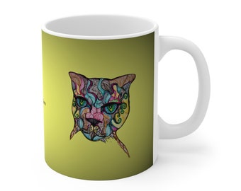 Cat Cat-ittude Ceramic Mug
