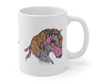 Mare-ryln Mane-roe Mug
