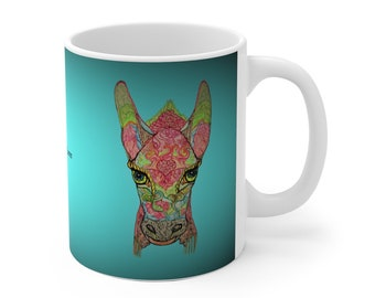 Donkey Blues Ceramic Mug