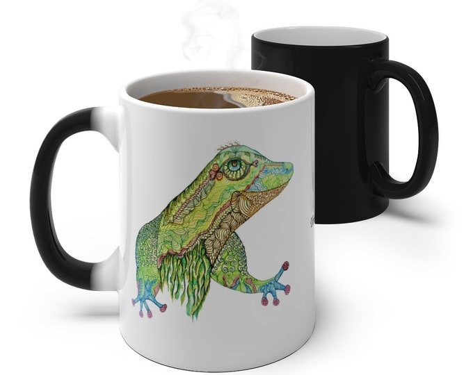 Gecko Color Changing Mug