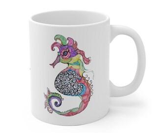 Sea Horse Noodle Mug