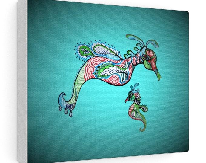Weedy Seadragons Canvas Gallery Wraps