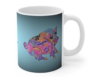 Pig Ceramic Mug