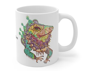 Bearded Dragon Iguana Mug