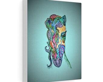 Sea Ocean Horse Canvas Gallery Wraps