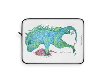Blue Iguana Laptop Sleeve