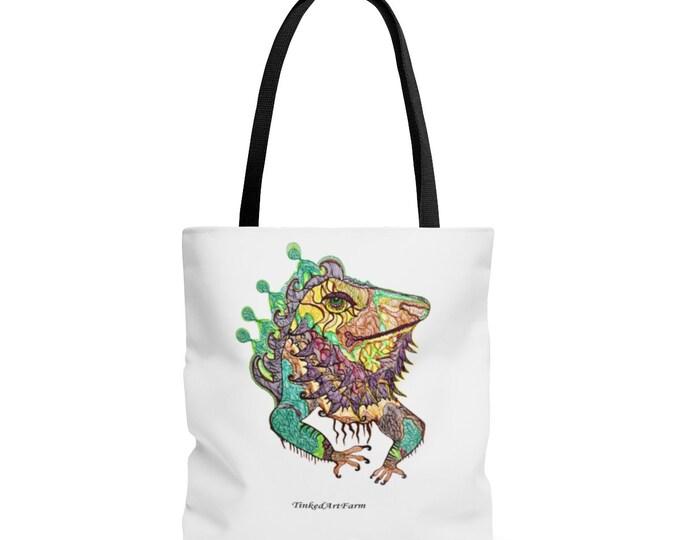 Bearded Dragon IguanaTote Bag