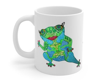Cha-Cha Frog Mug