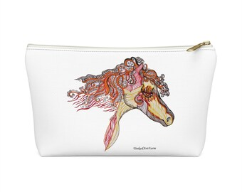 Fire Horse Accessory Pouch w T-bottom