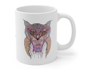 Horned Owl Mug