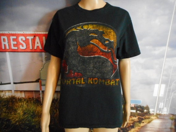 Mortal Kombat T-shirt - Vintage Video Game Tee - T