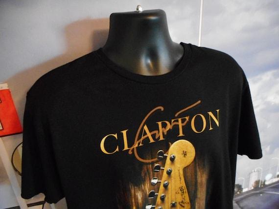 Eric Clapton Tee - Vintage T-shirt - Shirt Tee - C