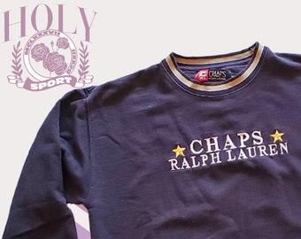 1fc2e511 Vintage Ralph Lauren Chaps Embroidered Sweatshirt