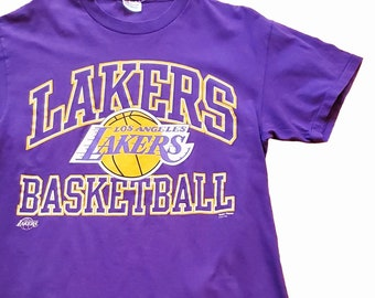 b28559a6261af Los Angeles Lakers Basketball Graphic Tee