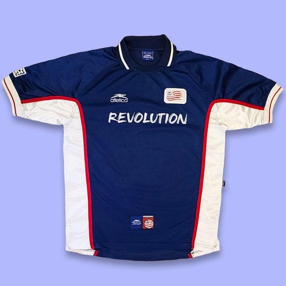 Vintage New England Revolution Soccer Jersey
