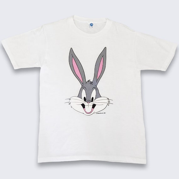 Vintage 80s Bugs Bunny Looney Tunes Shirt - Medium