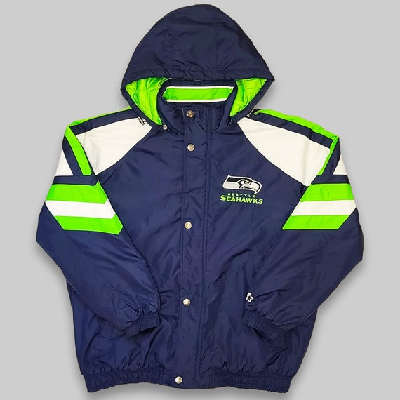 Seattle Seahawks Football Starter Hooded Jacket -