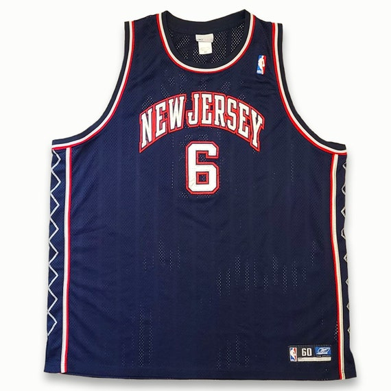 Authentic Vintage New Jersey Nets Martin Basketbal