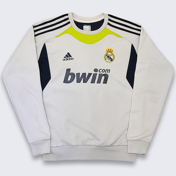 Real Madrid Adidas Soccer Warm Up Jersey Sweatshir
