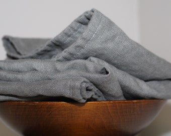 Linen Dish Towels - Made in USA