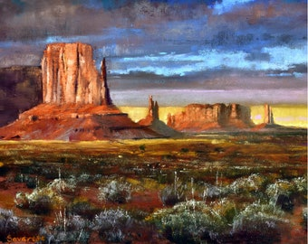 Monument Valley Art Etsy