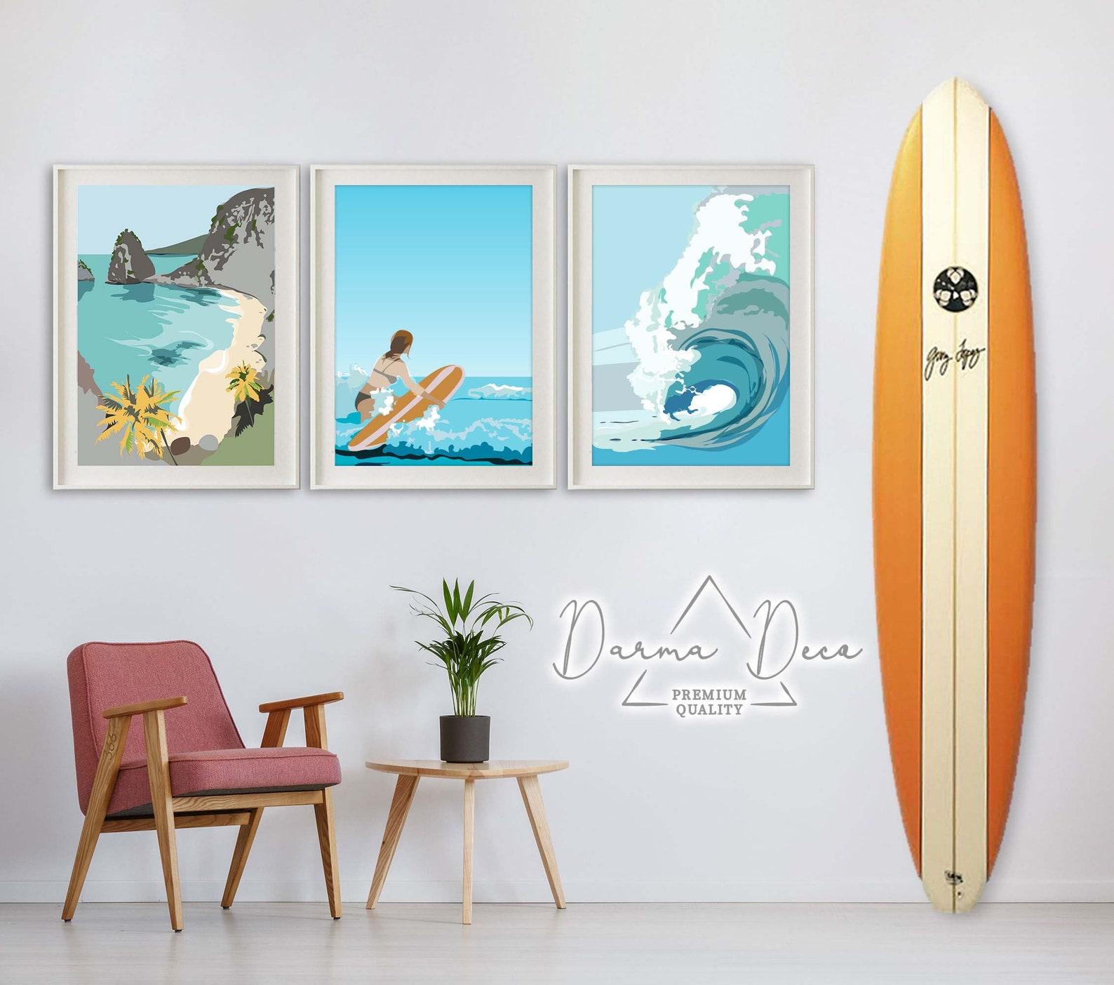 Tropical wall art makes the best Hawaiian souvenirs