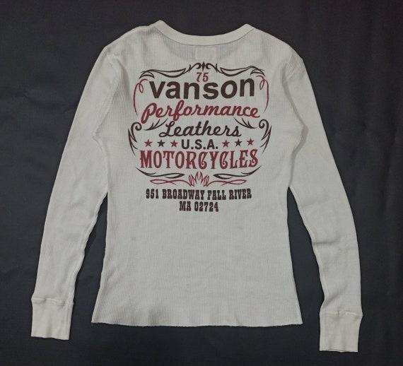Vintage Vanson Motorcycle Knit Shirt