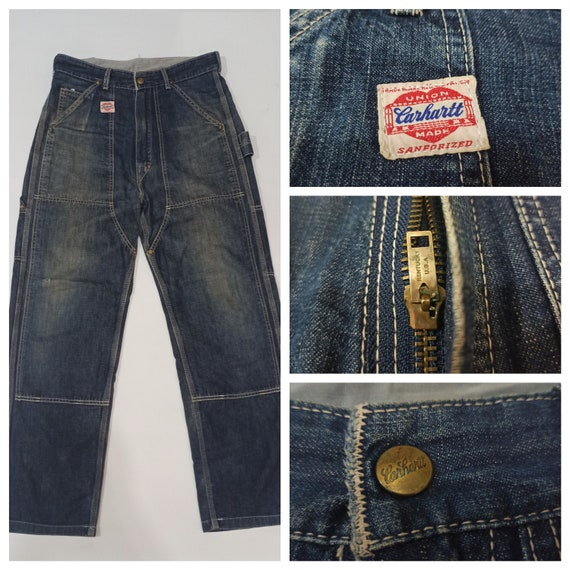 Vintage CARHARTT Union Made Sanforized Workwear De