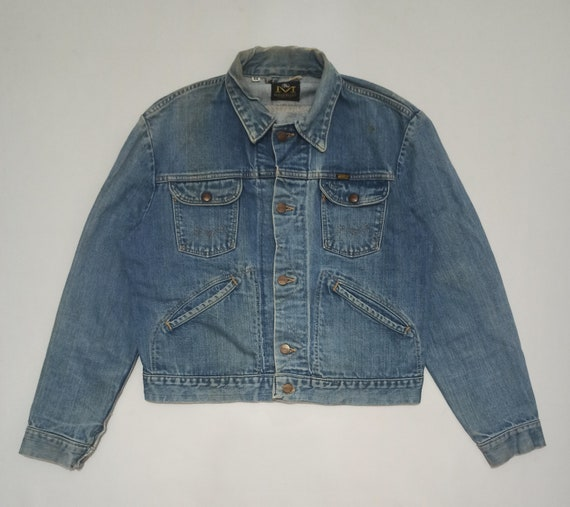Vintage 70s Maverick Blue Bell Denim Jean Jacket