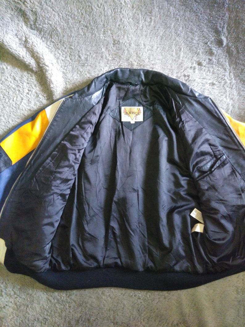 Vintage Phase 2 Leather Jacket Racing Style