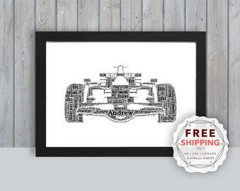 Formula 1 Gift Etsy