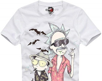 be75670f8d89 E1Syndicate T-Shirt Fear and Loathing IN LAS Vegas Rick   Morty 3441c