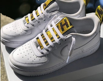 more photos 27925 afe5a Off White Custom Nike Air Force one
