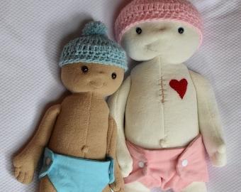 fe4f22aac08b Newborn Replica of Your Baby Weight & Height Preemie Doll Gift Keepsake  Milestone 1st Birthday