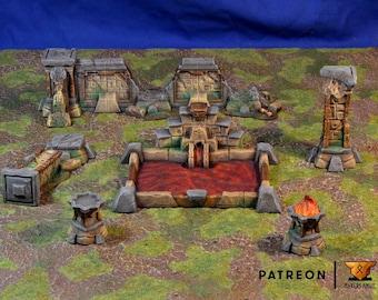 Aztec Temple Ruins • Lizardmen Temple Ruins