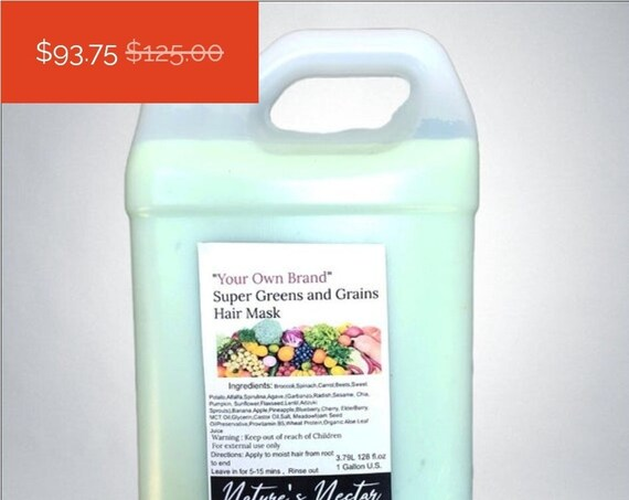 NEW! Stimulating Super Greens and Grains Hair Smoothie (mask)