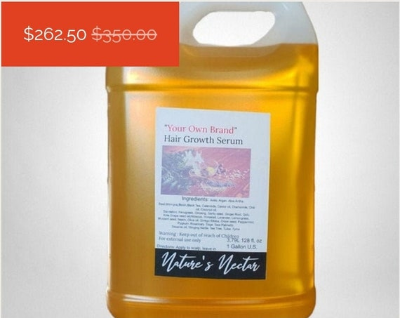 Marvelous Super Growth! - Hair growth Serum 1 gallon wholesale private label