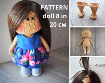 Amigurumi Pacifier Baby Doll Crochet Free Patterns - Crochet ... | 270x340