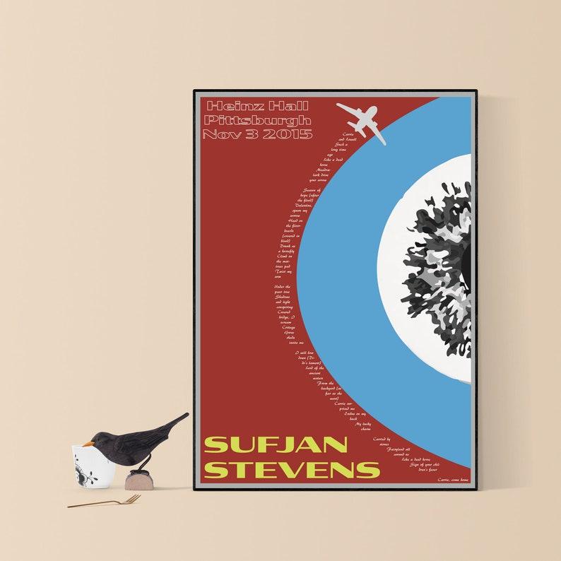Sufjan Stevens Music Poster Carrie & Lowell Design Print ...