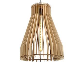 Fiberglass cone lamp | Etsy