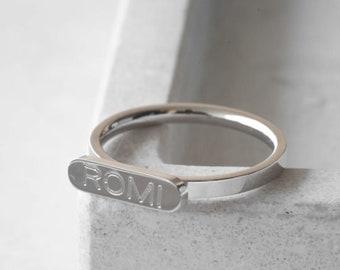 2b8abbefc2f83 Custom signet ring | Etsy
