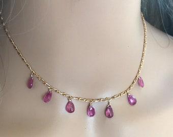 Jewelry Gifts for her Birthday Gift Green Jasper Heishe Hematite Gemstone Handmade Necklace for Women Christmas Gift for Women