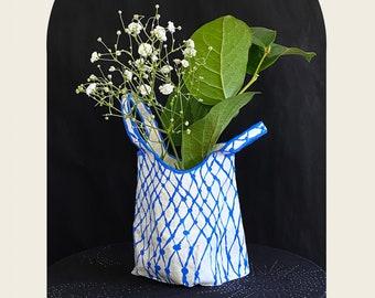 Paper Mache Vase Vessel Sculpture Shopping Bag Planter
