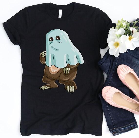 Halloween Shirt Boo Pumpkin Funny Gift Short Sleeve T-Shirt